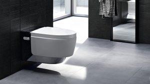 wc lavant geberitaquaclean mera badezimmer - azzi carrelage
