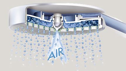 salle de bains airpower - azzi carrelage