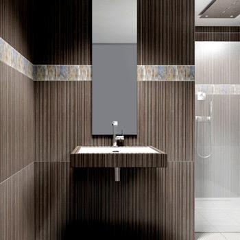 un décor de salle de bains pour le bien être - azzi carrelage